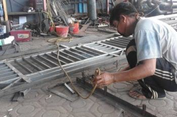 jasa pembuatan pagar sidoarjo